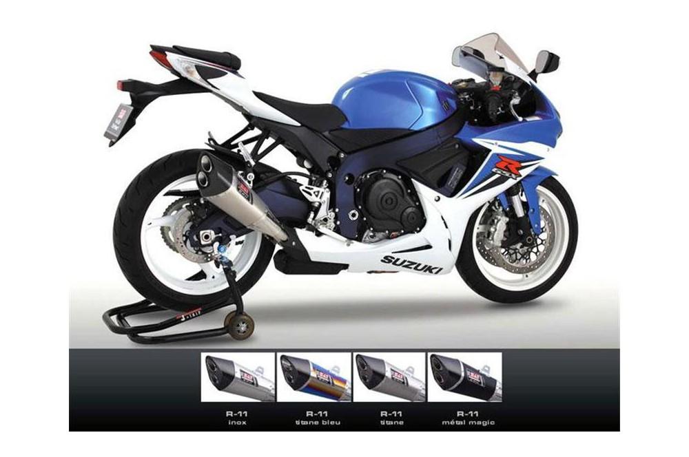 Silencieux Moto Yoshimura R11 pour Suzuki GSXR600 11-15
