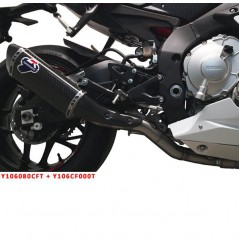 Décatalyseur / Tube intermédiaire Termignoni pour Yamaha R1 - R1M