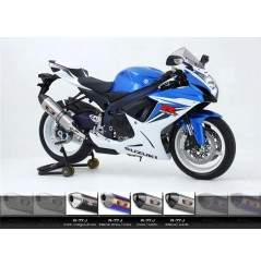 Silencieux moto Yoshimura R77-J pour GSXR750 (11-15)