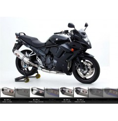Silencieux moto Yoshimura R77-J pour GSXF650 (08-16)