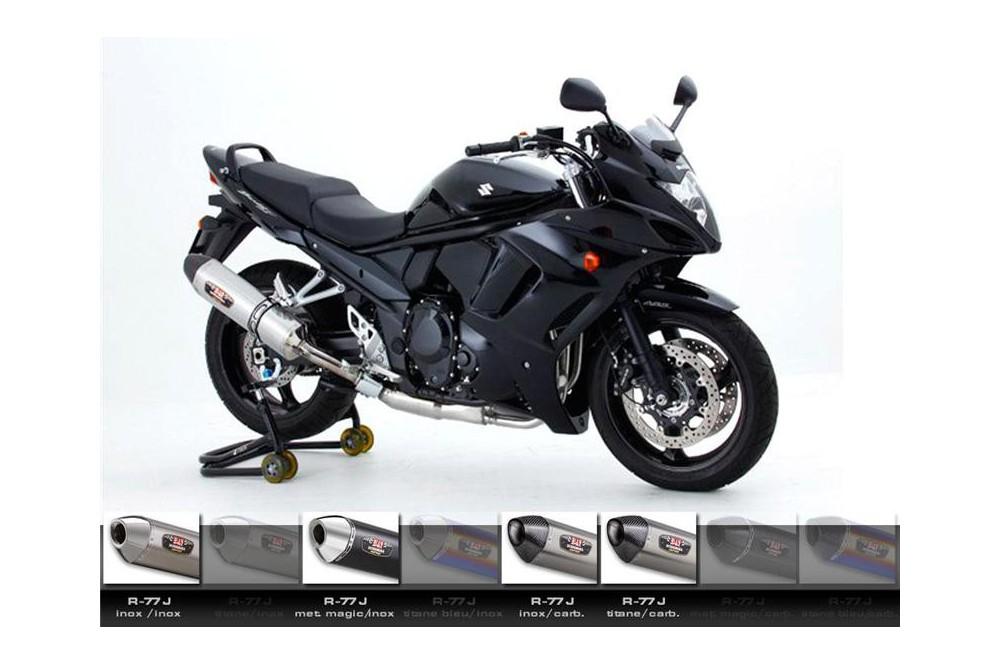 Silencieux moto Yoshimura R77-J pour GSXF650 08-15