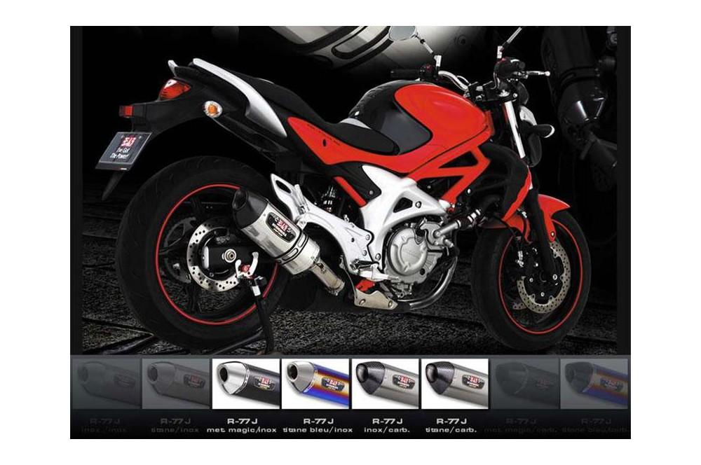 Silencieux moto Yoshimura R77-S pour Gladius 650 09-15