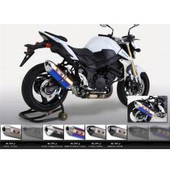 Silencieux moto Yoshimura R77-J pour GSR750 (11-16)