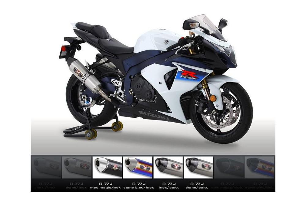 Silencieux moto Yoshimura R77-J pour GSXR1000 09-11