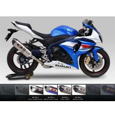 Silencieux moto Yoshimura R77-J pour GSXR1000 (12-16)