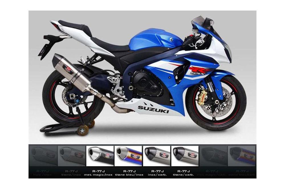 Silencieux moto Yoshimura R77-J pour GSXR1000 12-15