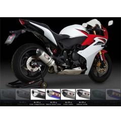 Silencieux moto Yoshimura R77-S pour CBR600F (11-13)