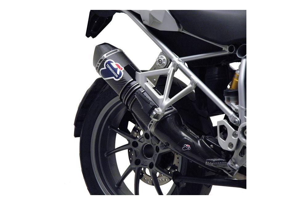 Silencieux moto Termignoni carbone pour BMW R 1200 GS 13-14