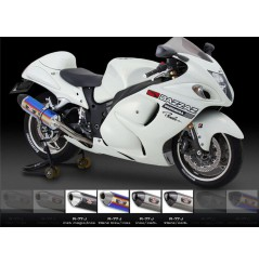 Silencieux moto Yoshimura R77-J pour Hayabusa 1340 (08-16)