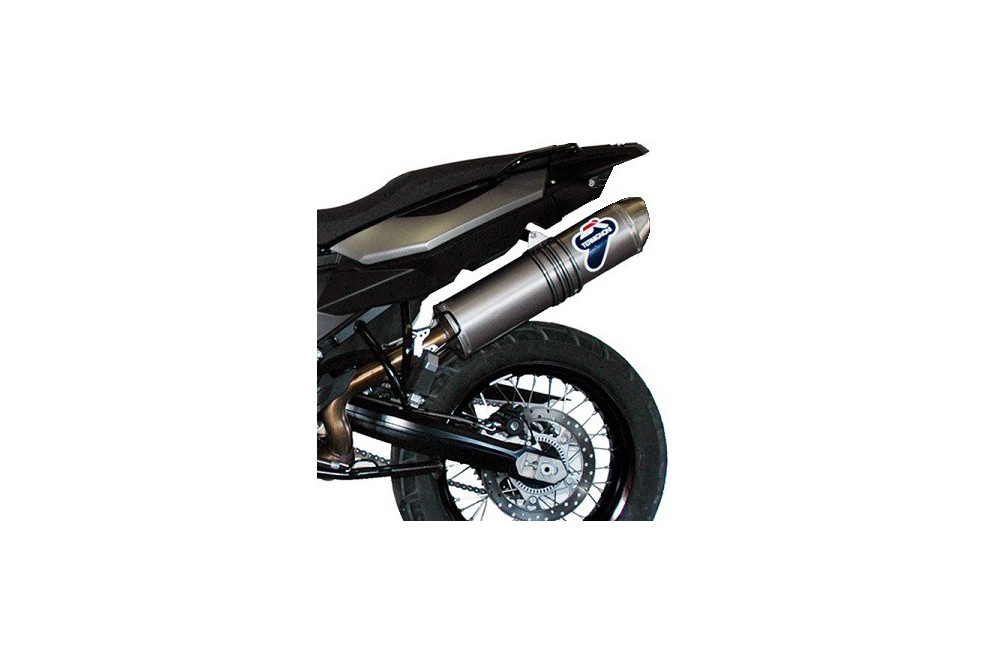 Silencieux moto Termignoni Titane pour BMW R1200GS (10-12)