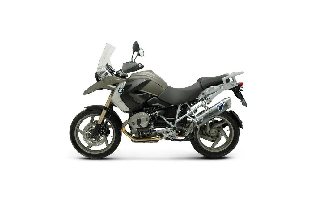 Silencieux moto Termignoni Carbone pour BMW R1200GS (10-12)
