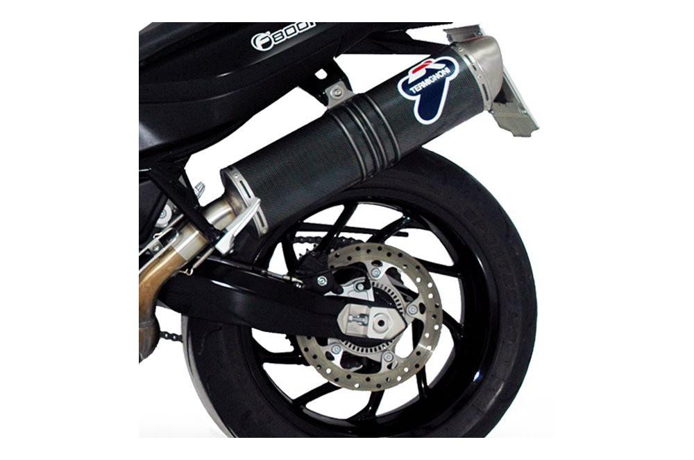 Silencieux moto Termignoni Carbone pour BMW F800R (09-12)