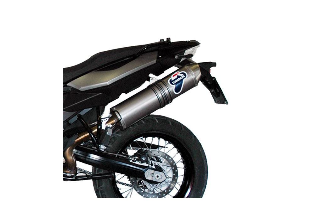 silencieux moto termignoni titane pour bmw f800gs 08 12 street moto piece. Black Bedroom Furniture Sets. Home Design Ideas
