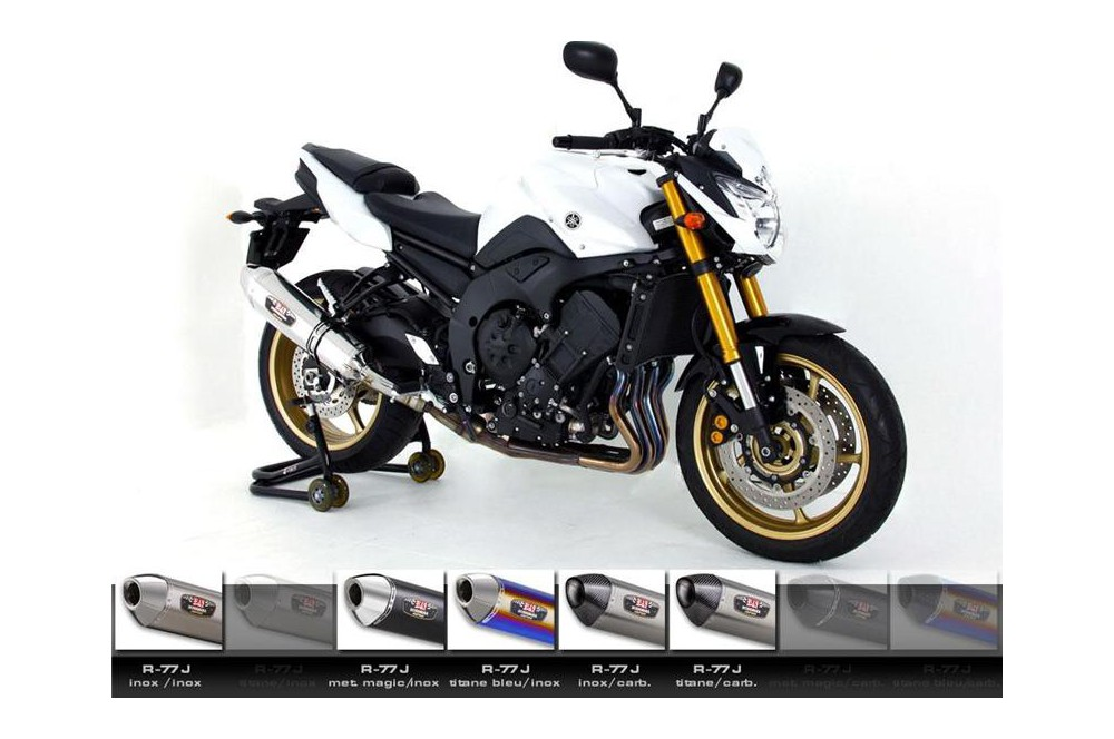 Silencieux moto Yoshimura R77-J pour FZ8 et Fazer (10-15)