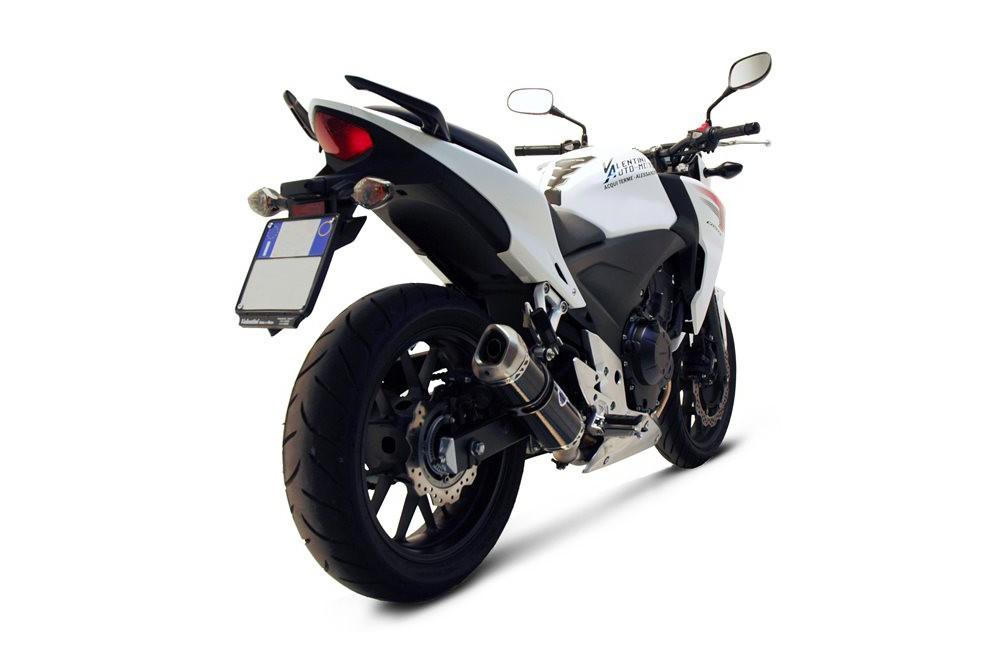 Silencieux moto Termignoni Relevance pour Honda CB - CBR 500 (13-14)