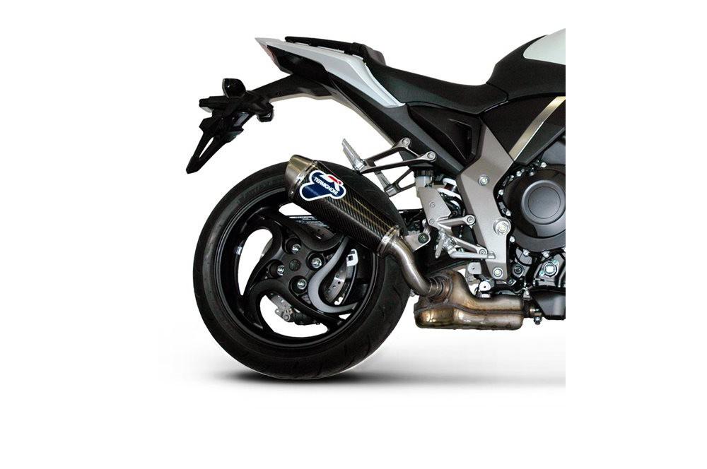 Silencieux moto Termignoni Ovale pour Honda CB1000R  (08-12)