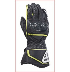 Gants Moto Racing Ixon Rs Circuit Hp Noir - Jaune
