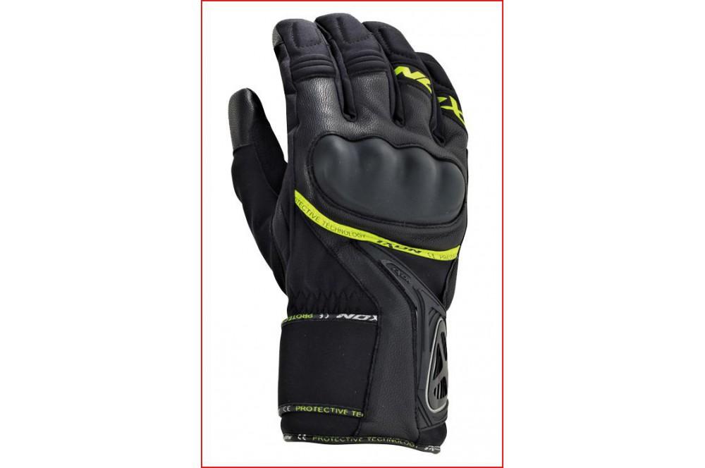 gants moto hiver ixon pro apex 2 hp noir jaune street moto piece. Black Bedroom Furniture Sets. Home Design Ideas