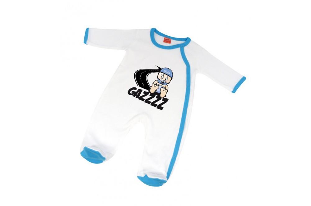 Pijama b b gazz 12 18 mois blanc bleu street moto piece for Bureau bebe 18 mois