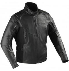 Blouson Cuir Moto Ixon CENTAUR Noir