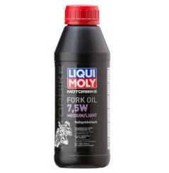 Huile de fourche LIQUI MOLY Motorbike FORK OIL 7.5w 100% Synth 0.5L