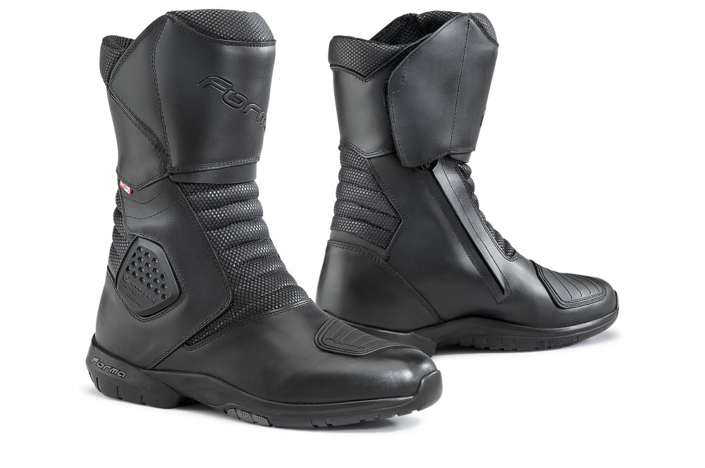 bottes moto touring forma sahara outdry cooling boot noir street moto piece. Black Bedroom Furniture Sets. Home Design Ideas