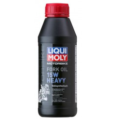 Huile de fourche LIQUI MOLY Motorbike FORK OIL 15w 100% Synth 0.5L