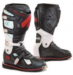 Bottes Moto Cross Forma TERRAIN TX Noir - Blanc - Rouge