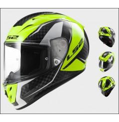 Casque Moto LS2 FF323 ARROW C FURY Carbone - Jaune