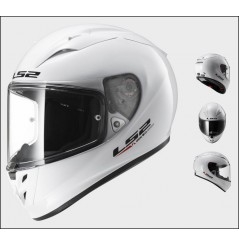 Casque Moto LS2 FF323 ARROW R SOLID Blanc