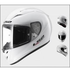 Casque Moto LS2 FF323 ARROW R SOLID Blanc