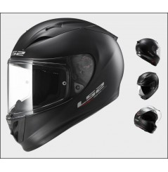 Casque Moto LS2 FF323 ARROW R SOLID Noir Mat