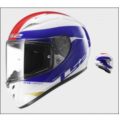 Casque Moto LS2 FF323 ARROW R COMET Bleu - Blanc - Rouge