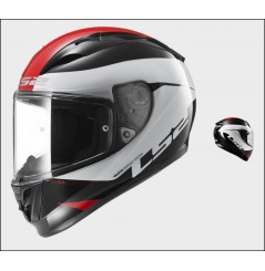 Casque Moto LS2 FF323 ARROW R COMET Noir - Blanc - Rouge