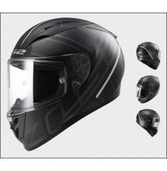 Casque Moto LS2 FF323 ARROW R ION Noir Mat - Titanium