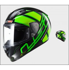 Casque Moto LS2 FF323 ARROW R ION Noir - Vert