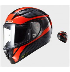 Casque Moto LS2 FF323 ARROW R BURNER Noir - Rouge