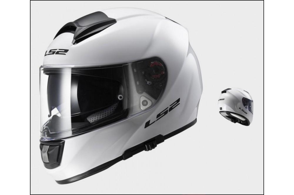Casque Moto LS2 FF397 VECTOR SOLID Blanc