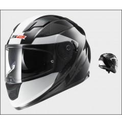 Casque Moto LS2 FF320 STREAM STINGER Noir - Titanium