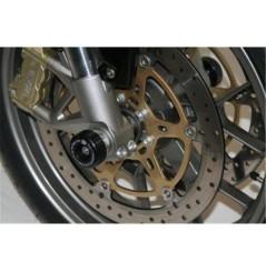 Roulettes de protection de fourche R&G pour Aprilia Mana 850 (08-15)