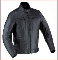 Blouson Cuir Moto Ixon Copper Rock Noir