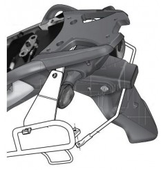 Support Valises Latérales Shad pour V-Strom 650 (12-16)