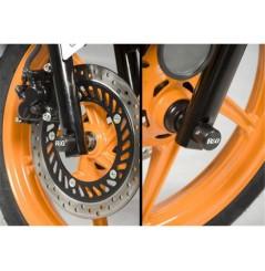 Roulettes de protection de fourche R&G pour Honda CBR125R (11-16)