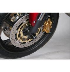 Roulettes de protection de fourche R&G pour Honda CBR600F (99-04)