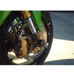 Roulettes de protection de fourche R&G pour ZX6R (03-12) - GTR et ZZR 1400 (06-16)