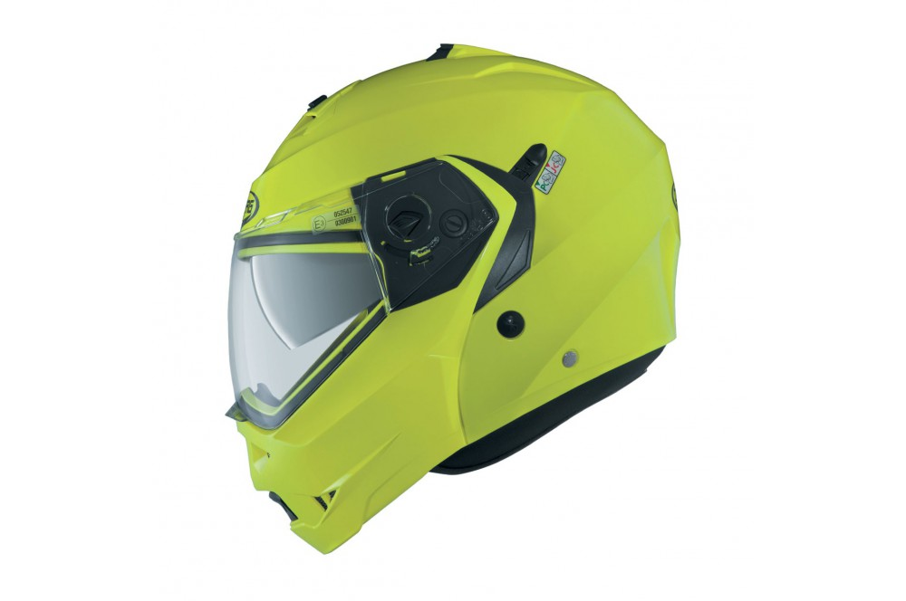 Casque Moto Modulable CABERG DUKE Jaune