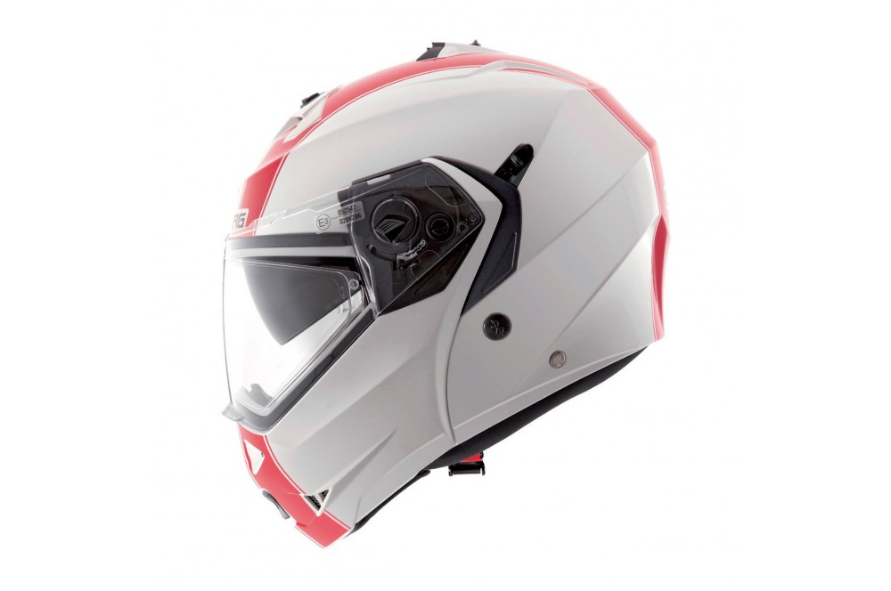 casque moto modulable caberg duke legend italia vert blanc rouge street moto piece. Black Bedroom Furniture Sets. Home Design Ideas
