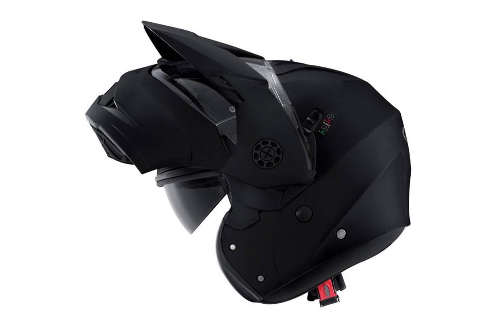Casque Moto Modulable CABERG TOURMAX Noir Mat