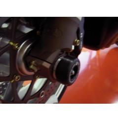 Roulettes de protection de fourche R&G pour MV Brutale 750 et 910 - F4 750 et 100 (05-10)