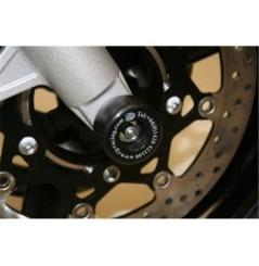 Roulettes de protection de fourche R&G pour Bandit 650 et GSXF650 (07-16)